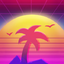 Demacia Vice Neon Sun profileicon