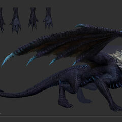 Elder Dragon Model 1 (by Riot Artist <a rel=