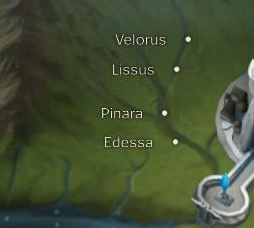 Lissus Map