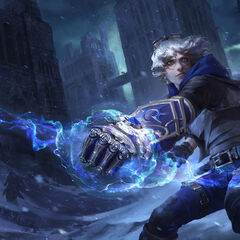 Frosted Ezreal Splash Update Concept 1 (by Riot Artist <a href=