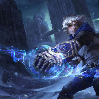 Frosted Ezreal Splash Update Concept (by Riot Artist <a href=