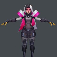 PROJECT: Irelia Model 2 (by Riot Artist <a href=