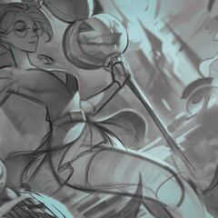 Bewitching Janna Splash Concept 2 (by Riot Artist <a href=