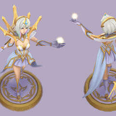 Elementalist Lux Model 4 (by Riot Artist <a href=