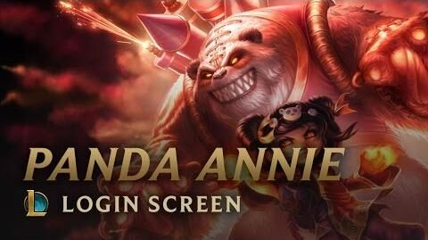 Panda-Annie - Login Screen