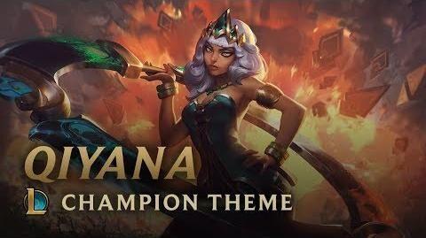 Qiyana, Emperatriz de los Elementos - Pantalla de Inicio