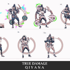 True Damage Qiyana Concept 2 (by Riot Artist <a rel=