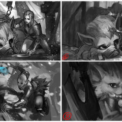 Traditional Sejuani Update Splash Concept 2 (by Riot Artist <a href=
