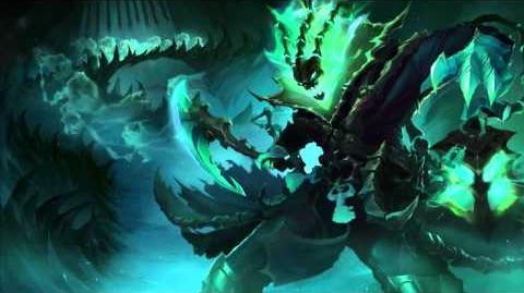 Thresh League Of Legends Login Screen With Music