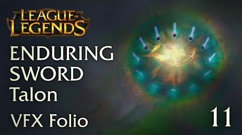 VFX Folio Enduring Sword Talon