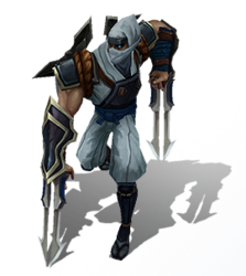 Zed Shockblade (Base)