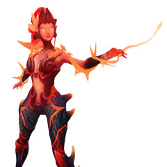 Wildfire Zyra Model 2 (by Riot Artist <a rel=