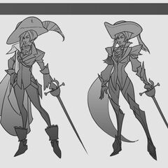 Royal Guard Fiora Update Concept 1 (by Riot Artist <a href=