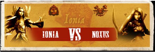 Ionia vs Noxus banner
