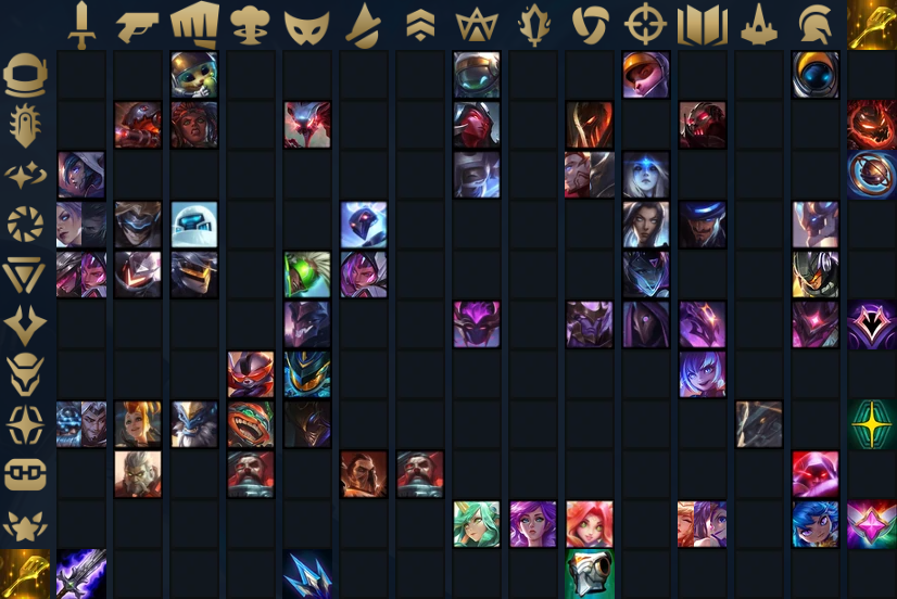 TFT Champion Cheat Sheet Set 3.5
