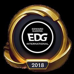 Mistrzostwa 2018 – Złote EDG