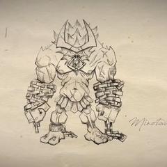 Concepto de Alistar 2 (por el artista de Riot <a class=