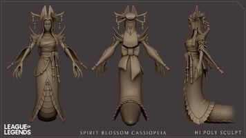 Cassiopeia Seelenblumen Model 05