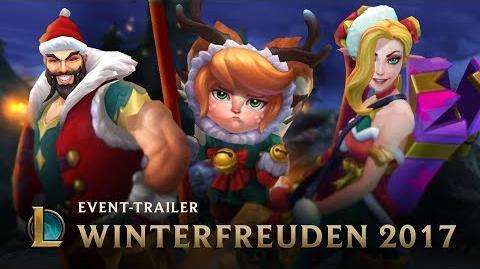 Der beste Weihnachtshelfer Winterfreuden 2017 Skins-Trailer – League of Legends