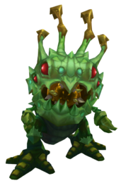 Kog'Maw Caterpillar Render