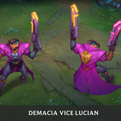 Demacia Vice Lucian Concept 1 (by Riot Artist <a href=
