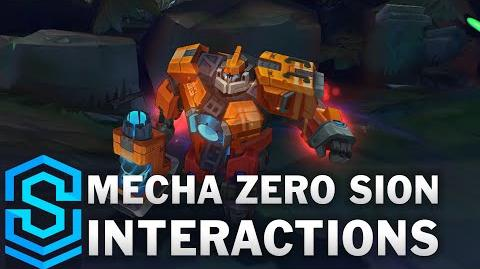 Mecha Zero Sion Special Interactions