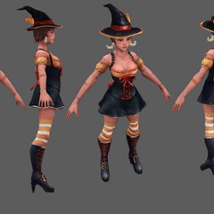Bewitching Nidalee Update Model 4 (by Riot Artist <a href=