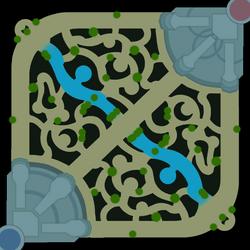 Summoner's Rift Minimap with Brushes
