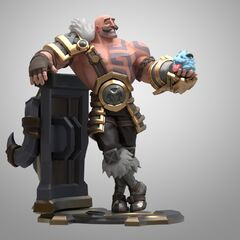 Braum Statue Model 1 (by Riot Artists <a href=