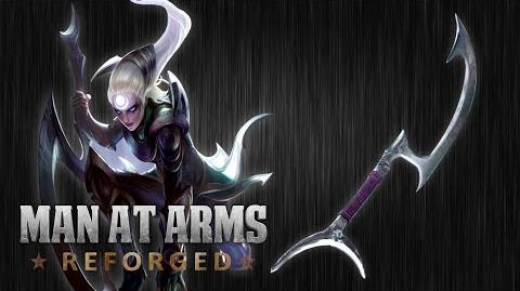 Diana's Crescent Moon Blade (League of Legends) - Man At Arms Reforged