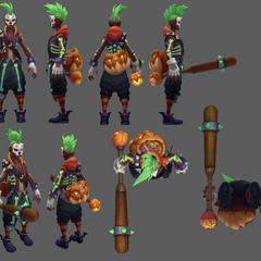 Trick or Treat Ekko Model