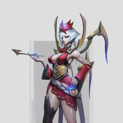 Blood Moon Elise Concept (by Riot Artist <a href=