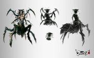 Emptylord Spider Queen by TheBastardSon