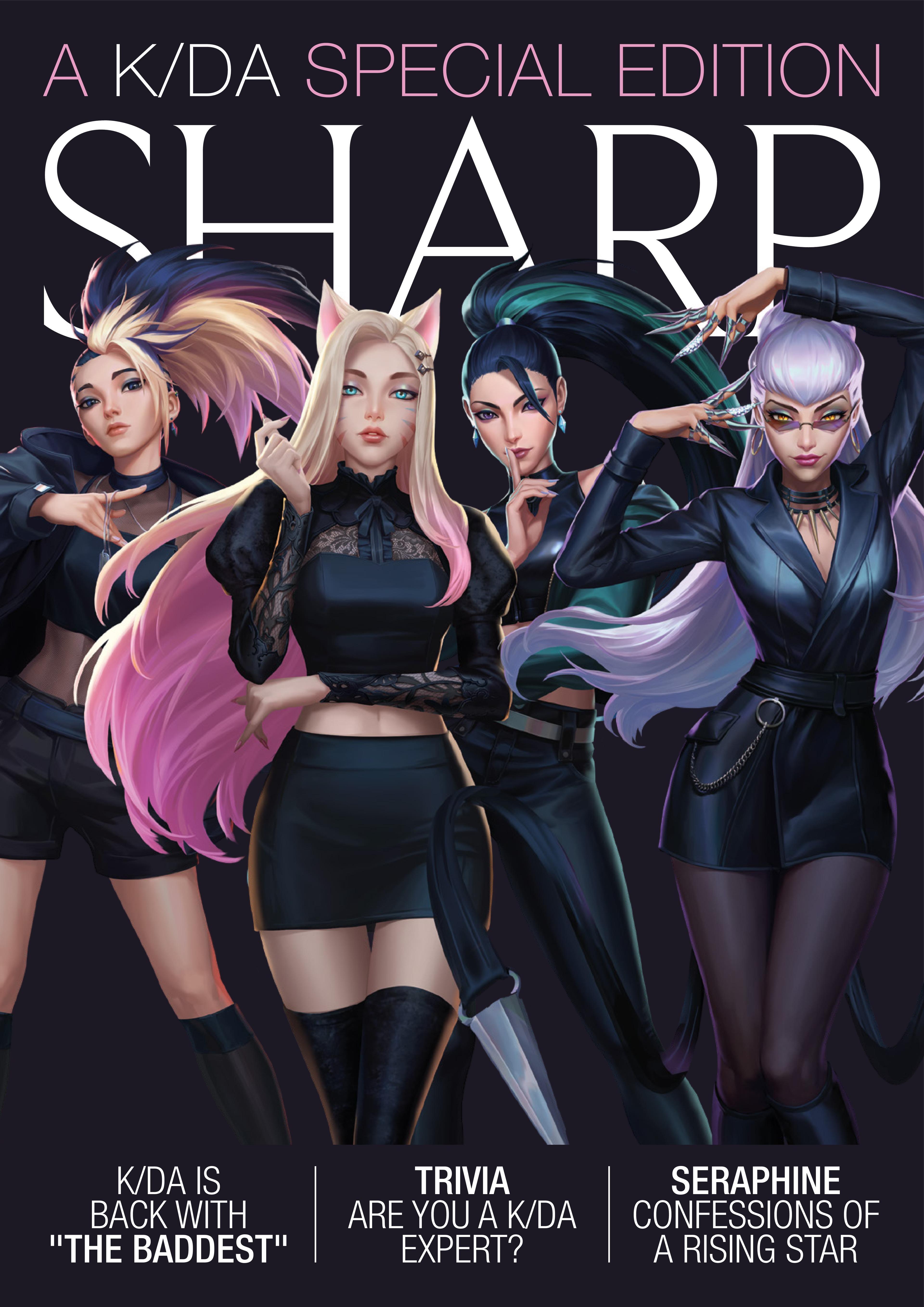 KDA Sharp 1 Cover 01