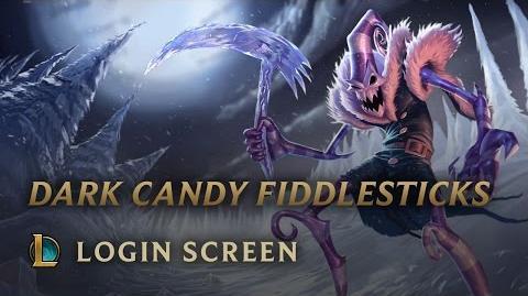 Mroczny Cukierek Fiddlesticks (Snowdown Showdown 2012) - ekran logowania