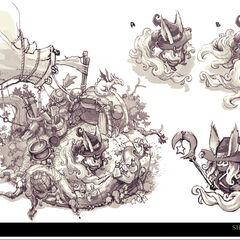 Summoner's Rift Update Shopkeeper Concept 7 (by Riot Artist <a href=