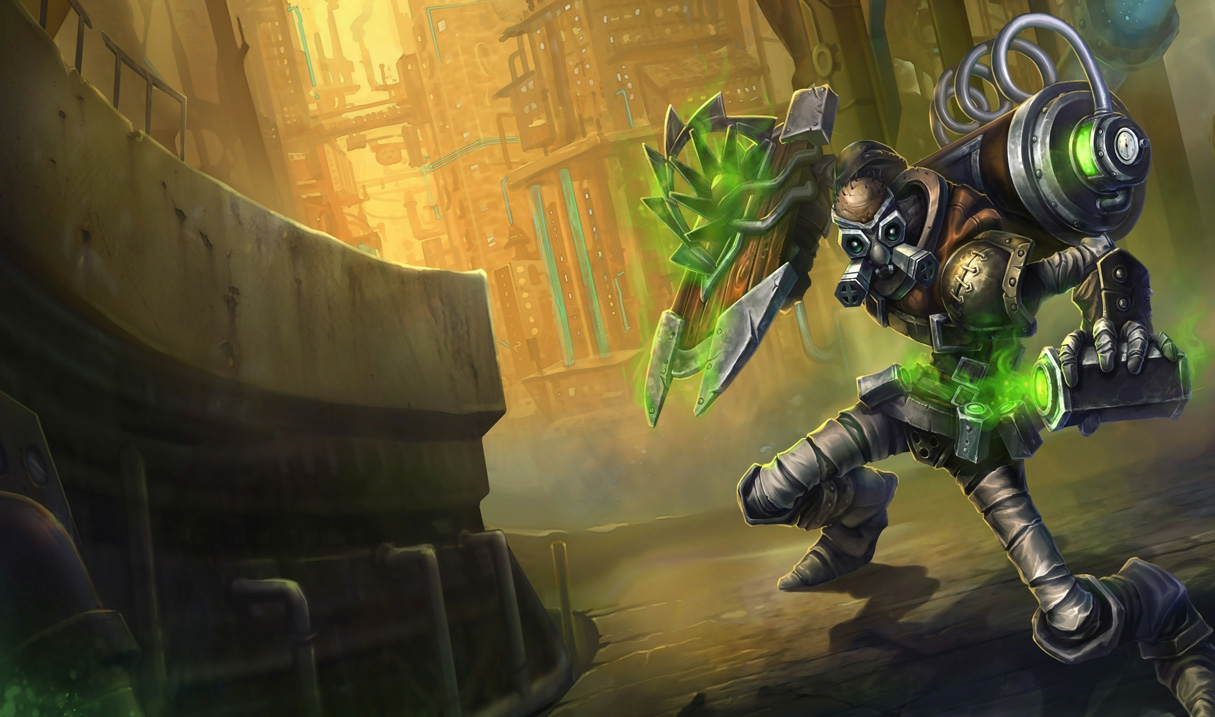 Singed Hextech-Singed S