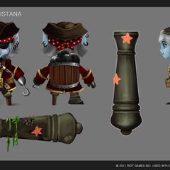 Buccaneer Tristana Concept (by Riot Artist <a href=