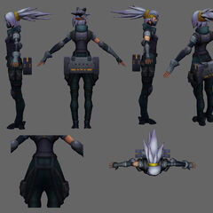Silverfang Akali Update Model 3 (by Riot Artists <a href=