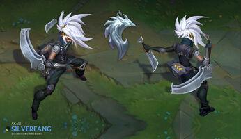 Akali Update Silverfang concept 01