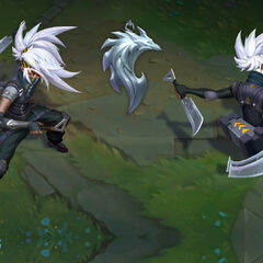 Silverfang Akali Update Concept (by Riot Artists <a href=