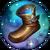 Calzature magiche rune