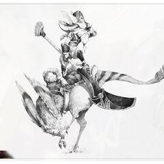 Concepto de Kled 20 (por el artista de Riot, <a class=
