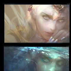 Elementalist Lux Promo Concept 2 (by Riot Artist <a href=