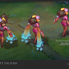 Pool Party Taliyah Concept 1 (by Riot Artist <a href=