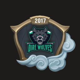 Worlds 2017 Dire Wolves Emote