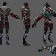 Draven Model 4 (by Riot Artist <a href=