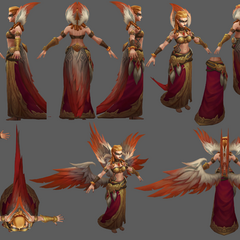 Exiled Morgana Update Model 2 (by Riot Artists <a href=