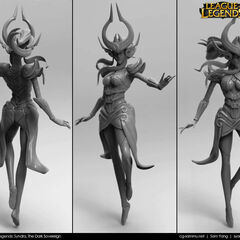 Syndra Model 1 (by Riot Artist <a rel=