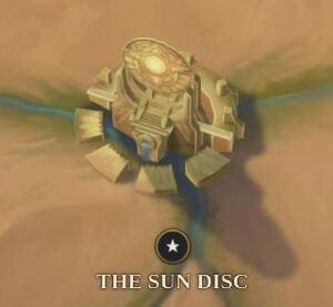 The Sun Disc map
